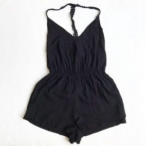 UO Antropologie  Ecote lace racer back romper XS